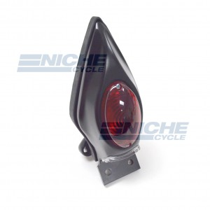 Teardrop Fender Mount Taillight Black 62-21671