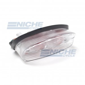Taillight Honda Clear w/Red 62-84745