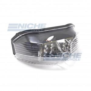 Yamaha FZ1 FZ6 Clear LED Taillight Assembly 62-84779L
