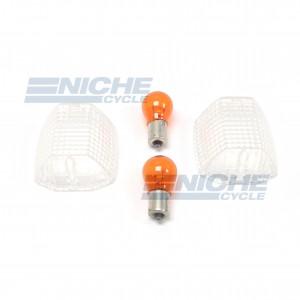 Kawasaki Turn Signal Lense w/Bulbs 59-11540