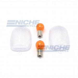 Honda Turn Signal Lense w/Bulbs 59-21310