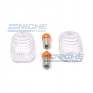 Duacti Turn Signal Lense w/Bulbs 59-19750