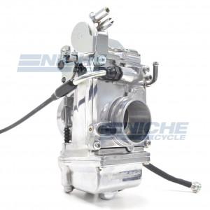 Mikuni HSR45 TM45 45mm Flat Slide Pumper Carburetor Polished TM45-2PK