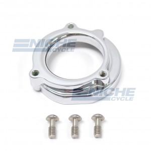 Mikuni HSR Air Box Adapter Kit - Chrome HS42/001-CHR-K
