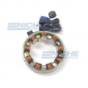 Kawasaki Stator Alternator Wire Harness KZ900 KZ1000 Z1 21076-023 48-98630