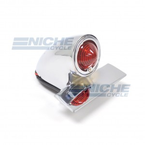 Sparto Classic Style Taillight - Chrome 62-30360