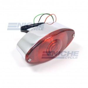 Mini Retro Cateye Taillight - LED Type 62-21622