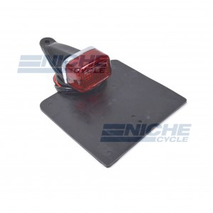 Enduro Type Taillight w/Flap 62-30300