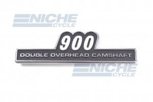EMBLEM - 900 SIDE COVER 72-74 43-95900A