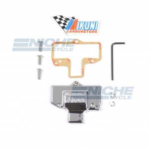 Mikuni HSR48 Chrome Carburetor Cap w/Logo KHS-032