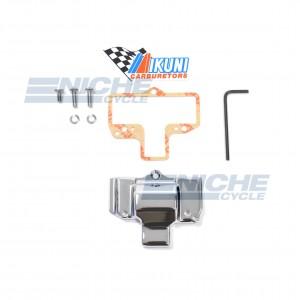 Mikuni HSR42/45 Chrome Carburetor Cap Plain KHS-028