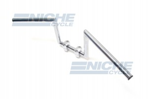 "Handlebar - Z Bars 8"" Rise Chrome 07-93434"