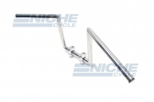 "Handlebar - Z Bars 10"" Rise Chrome 07-93430"