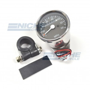 Mini Speedometer Gauge 140 MPH - 2:1 Ratio 58-43672