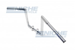 "Handlebar - Fat Z Bars 12"" Rise Chrome 07-93436"