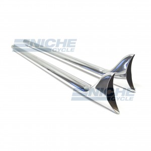 "Fishtail Exhaust Extensions 42"" 80-75133"