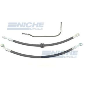 Honda CB500 CB550 Front Disc Brake Line Hose Kit NCS-HHK004