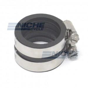Mikuni VM30-VM34 Click Lock Straight Rubber Carburetor Connector NCS3034-RC