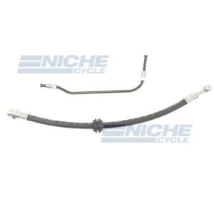 Honda CB450 CB500 CB550 CB750 Front Lower Brake Hose/Line Kit NCS-HHK006