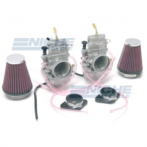 Honda CB350/CL350/CB360 Mikuni TM32 32mm Flat Slide Carburetor Kit NCS248F
