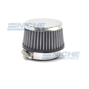 Round Straight Air Filter - 58mm RC-190