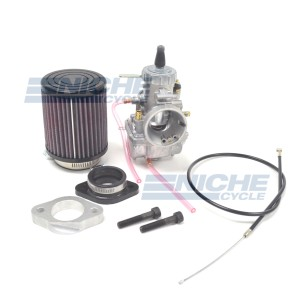 Royal Enfield 500 2000-Later Mikuni VM34 34mm Conversion Carburetor Kit NCS237