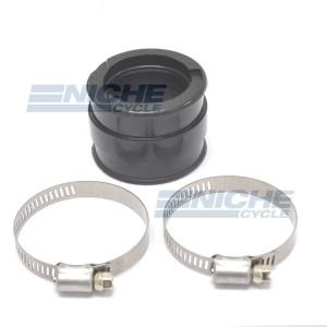 Carburetor Holder, Straight Rubber Manifold Adapter 40/42mm RY08-021