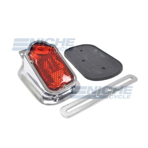 Tombstone Taillight Chrome 62-21600
