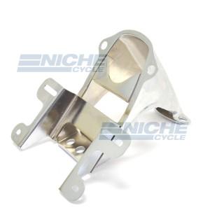 Honda CB400F Chrome Rear Tail Light Bracket - 84701-377-670XW 84701-377-670XW