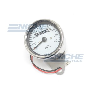 Mini Speedo 2.1:1 ODO White 58-43667A