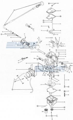 Mikuni TM36-68 Exploded View - Replacement Parts Listing TM36-68_parts_list