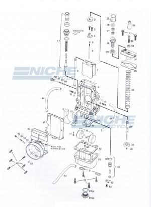 Mikuni TM34-2 Exploded View - Replacement Parts Listing TM34-2_parts_list