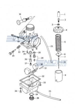 Mikuni VM24-512 Exploded View - Replacement Parts Listing VM24-512_parts_list