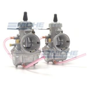 Mikuni 34mm Kawasaki KZ750 Twins Carburetor Set VM34-KZ750